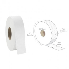 "Exclusive 2-Ply Jumbo Bath Tissue 9"" Diameter - SKU 19230"