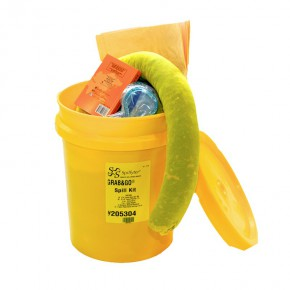 Hazmat Spill Kit Bucket - SKU 205304