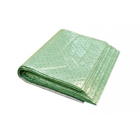 Universal Sorbent Pad with barrier backing High Capacity - SKU G-6445H