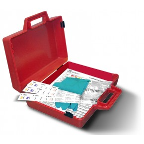 Wastewater Classifier Kit Red Plastic Case - SKU 581020