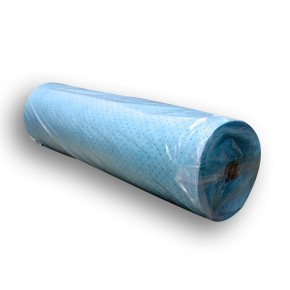 Oil-Only Sorbent Rug Roll with barrier backing High Capacity - SKU M-149