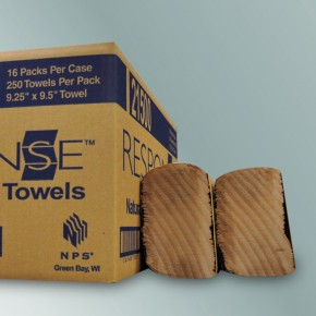 Natural Multi-Fold Towel - SKU 21500