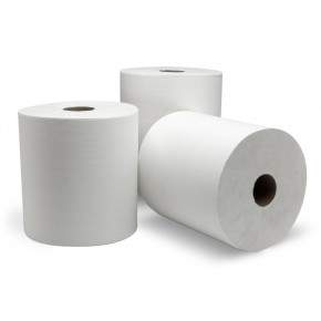 "10"" Exclusive White Roll Towel 800ft - SKU 7900W"