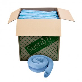 Recycled Oil-Only Sorbent Sock 3in x 4ft - SKU M-34
