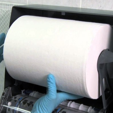 Exclusive Dispenser for Hard Roll Towels - SKU 51060