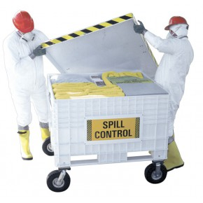 Hazmat Spill Kit Large Cart - SKU 250170