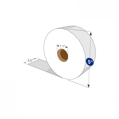 "Exclusive Premium Jumbo Bath Tissue 5"" Diameter - SKU 255"