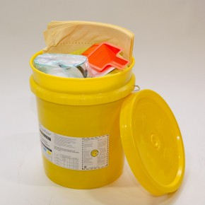 Neutralizing Spill Kit for Bases Bucket - SKU 270006