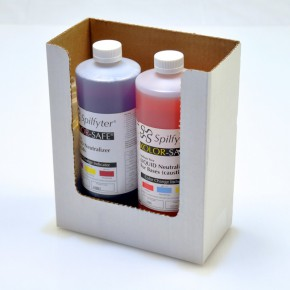 Neutralizing Spill Kit for Acids or Bases Dispenser Box - SKU 271340