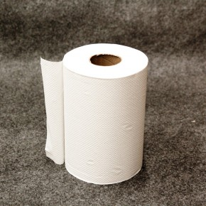 White Hardwound Roll Towel 350ft - SKU 30100