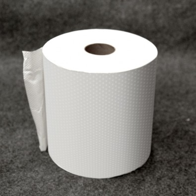 White Hardwound Roll Towel 800ft - SKU 30380