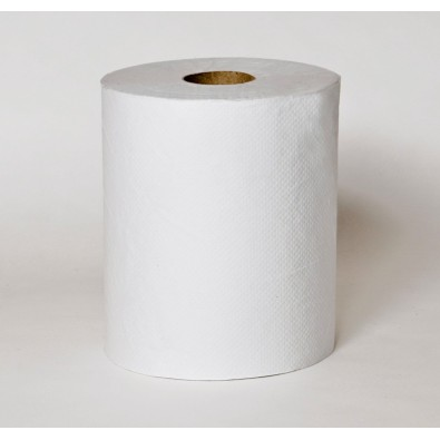 White Hardwound Roll Towel 925ft - SKU 31000