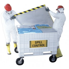 Oil-Only Spill Kit Large Cart - SKU 350170