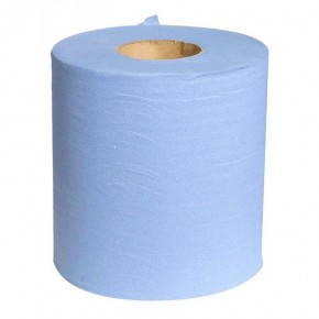 4-Ply Blue Roll Wipe - SKU 50843