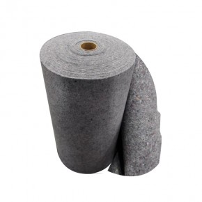Recycled Fiber Rag Rug Sorbent Roll 36in x 150ft - SKU 521040